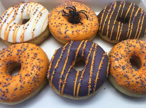 Halloween Spider Donut box - JJ Donuts