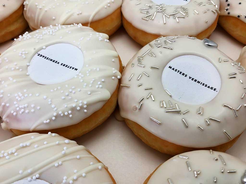 JJ Donuts - zakelijke donuts - inspiratie donutbox - masters vernissage
