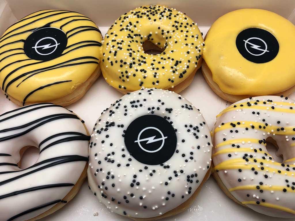 JJ Donuts - zakelijke donuts - inspiratie donutbox - opel