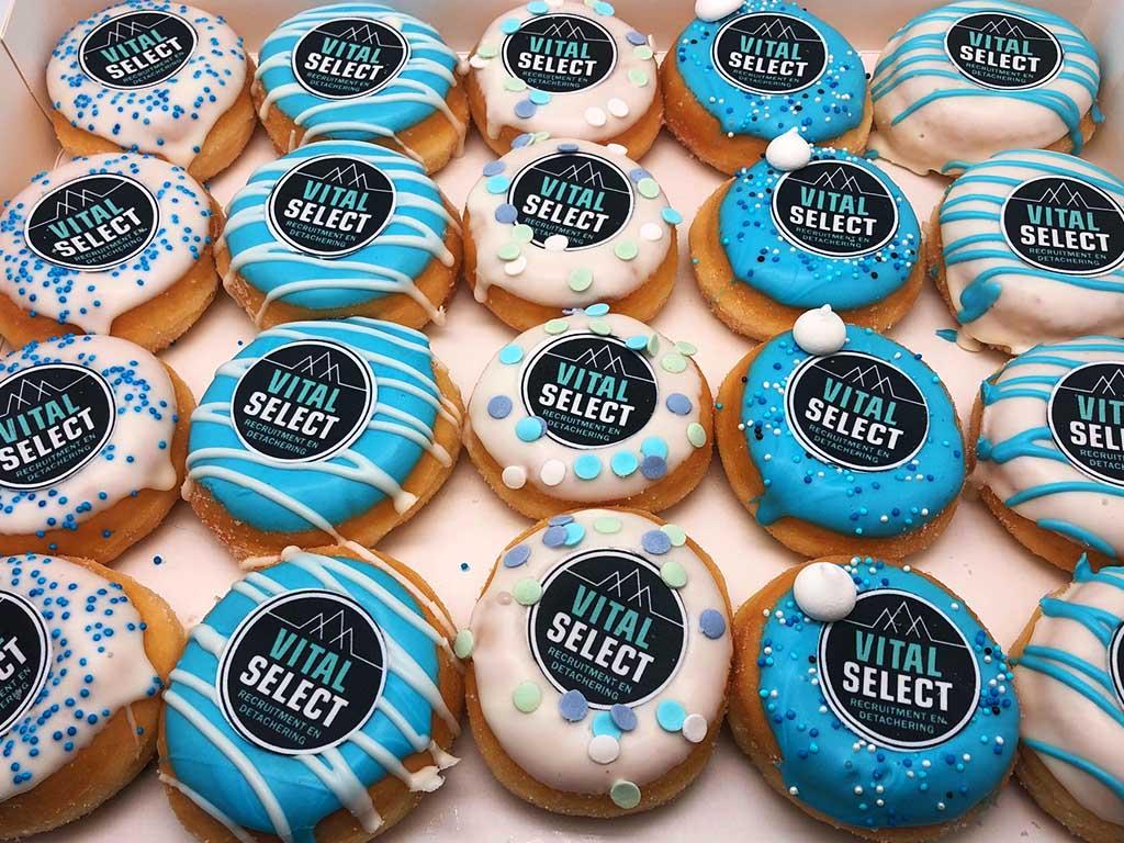 JJ Donuts - zakelijke donuts - inspiratie donutbox - vital select
