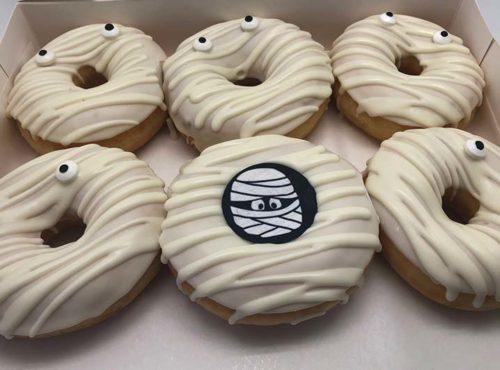 Mummie Donut box - JJ Donuts