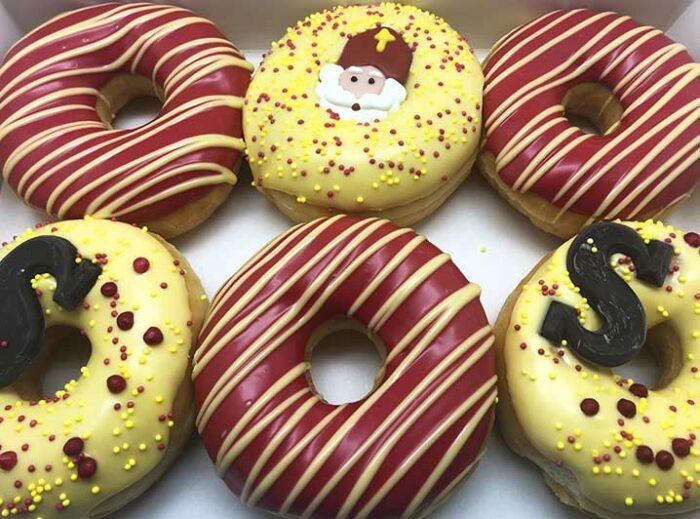 De Sint Choco Donut box - JJ Donuts