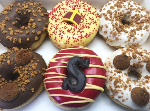 De Sint Speculoos Donut box - JJ Donuts