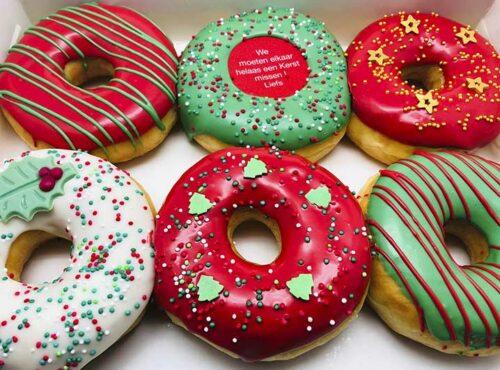 Mis je met Kerst Donut box - JJ Donuts