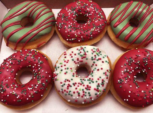 Uni Kerst Donut box - JJ Donuts