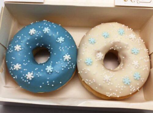 Frozen Donut box - JJ Donuts