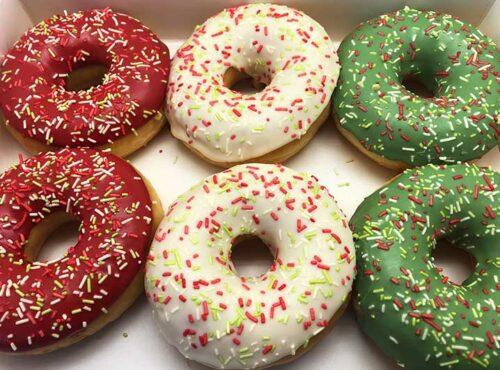 Kerstdeal Donut box - JJ Donuts