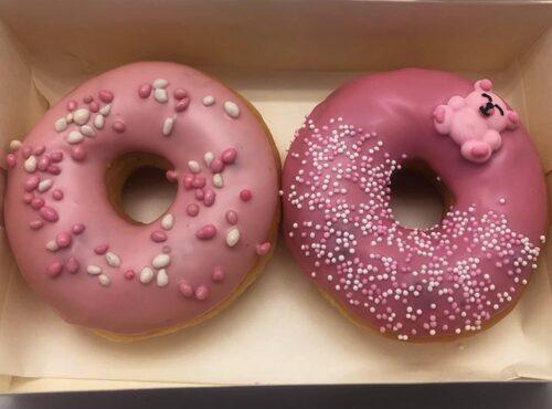 Baby Girl Donut box - JJ Donuts