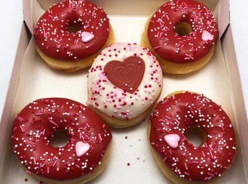Valentijn Mini Donut box 2021 5st- JJ Donuts