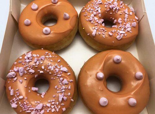 Vegan Limoen Donut box - JJ Donuts