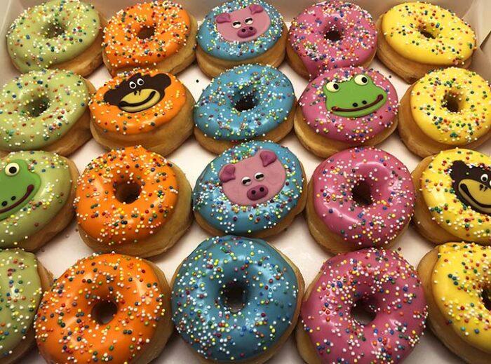 Animal Mini Donut box - JJ Donuts
