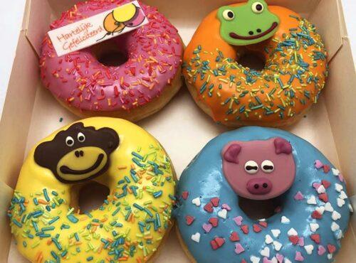 Gefeliciteerd Animal Donut box - JJ Donuts