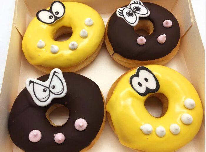 Vegan Kids Donut box - JJ Donuts