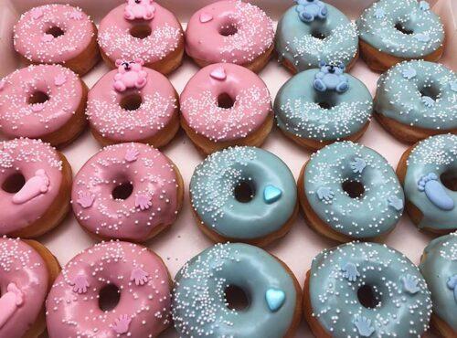 Baby Pastel Mini Donut box - JJ Donuts