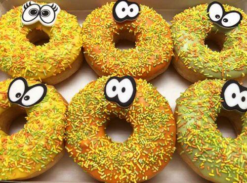 Paashagel Vriendjes Donut box - JJ Donuts