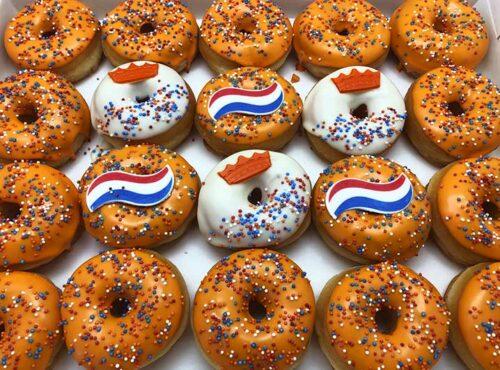 Koningsdag 2021 Mini Donut box - JJ Donuts