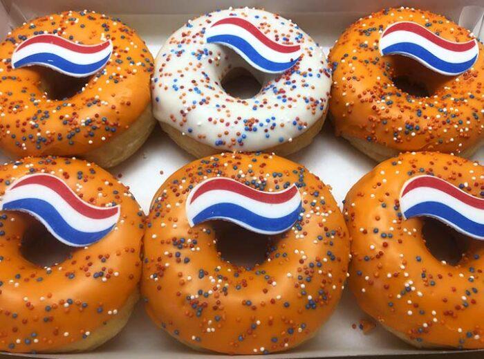 Vegan Koningsdag Donut box - JJ Donuts
