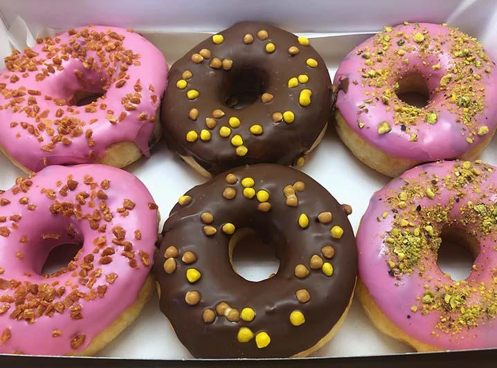 Chunk Donut box - JJ Donuts