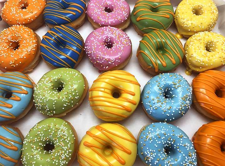 Color Meeting Mini Donut box - JJ Donuts