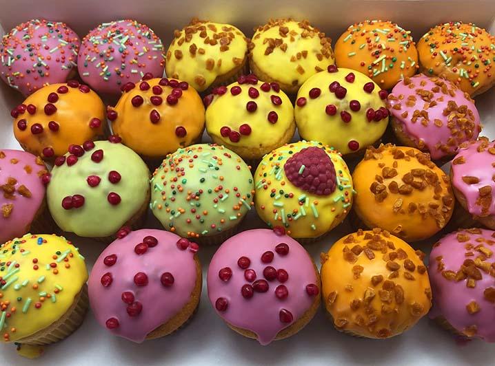 Fruity Mini Muffin box - JJ Donuts