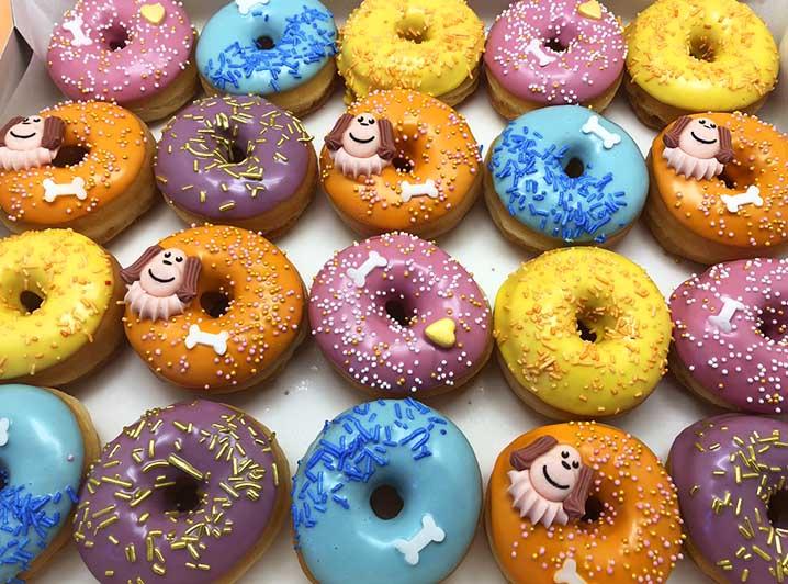 Woef Mini Donut box - JJ Donuts
