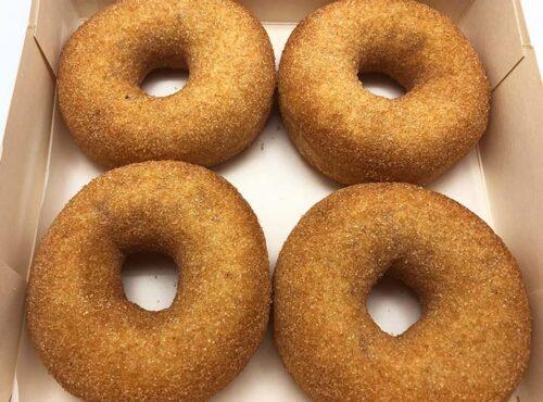Appel Kaneel Donut box - JJ Donuts