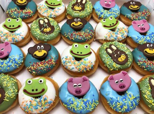 Beestenboel Mini Donut box - JJ Donuts