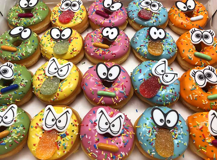 Kwajongens Mini Donut box - JJ Donuts