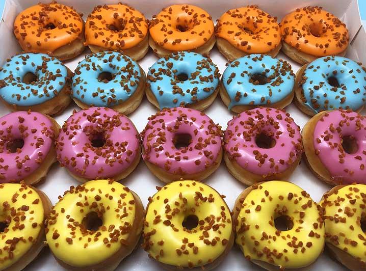 Salted Caramel Mini Donut box - JJ Donuts